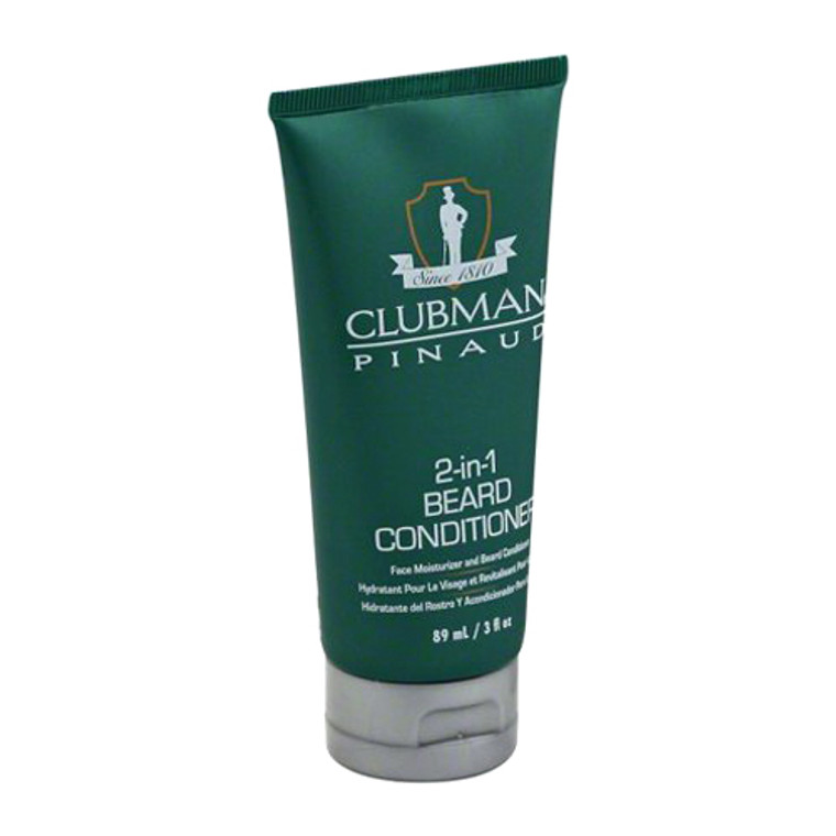 Clubman Pinaud 2 in 1 Beard Conditioner for Men, 3 Oz