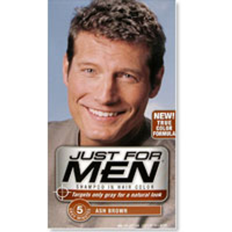 Just for Men Original Formula Mens Hair Color, Ash Brown, 1 Ea