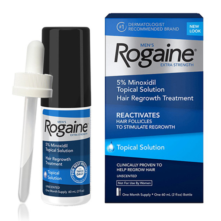 Mens Rogaine Extra  Strength Hair Regrowth Treatment  - 2 Oz  ( 20 % Off )