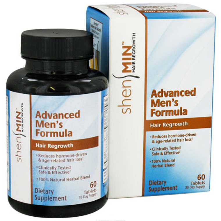 Shen Min Hair Re-Growth Advanced Formula Tablets For Men, 60 Ea