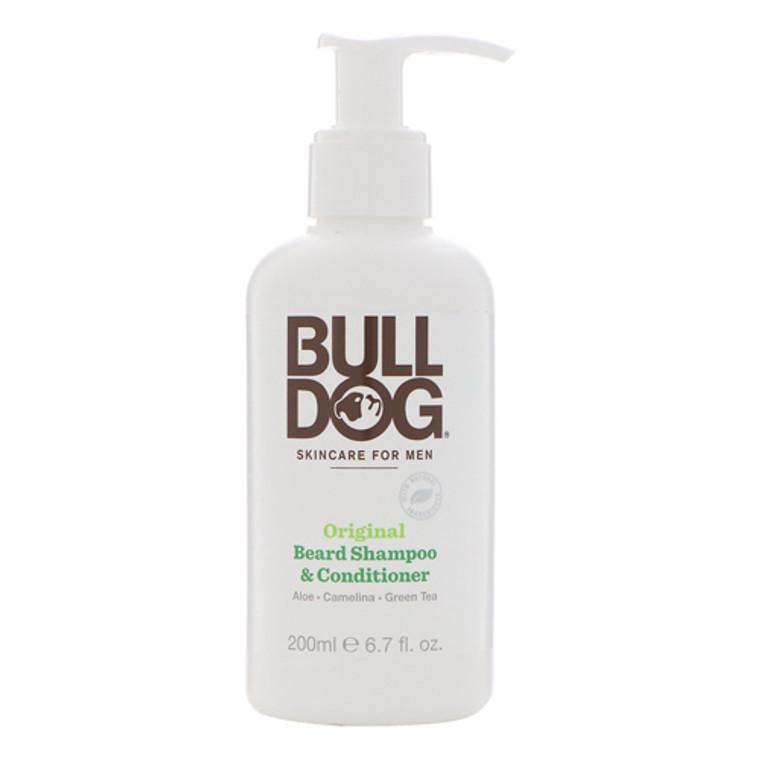 Original Beard Shampoo And Conditioner For Men By Bulldog Natural Skincare, 6.7 Oz