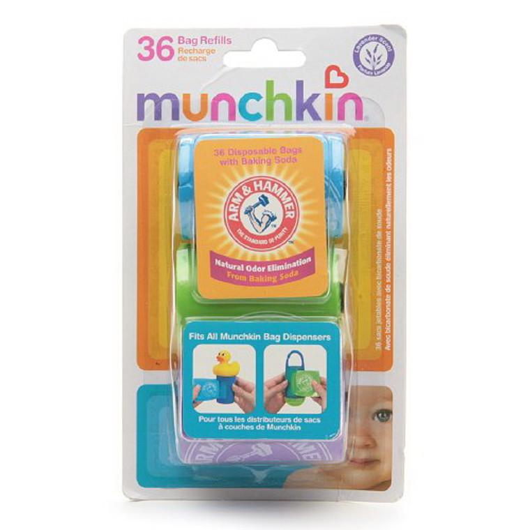Arm & Hammer By Munchkin Bag Dispenser Refill, Lavender - 3/ Pack