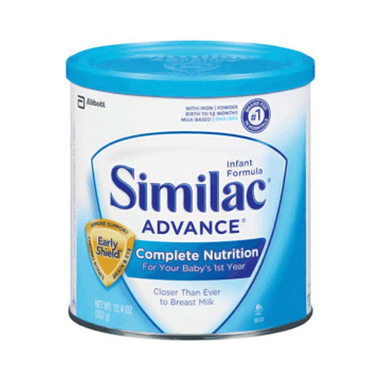 Similac Advance Infant Formula With Iron Powder - 12.9 Oz