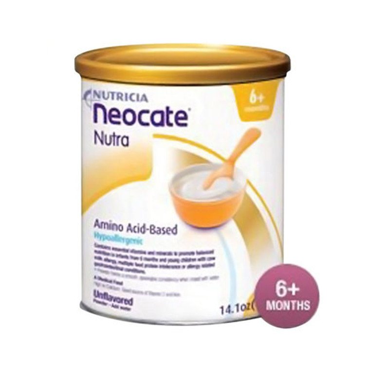 Nutrica Neocate Nutra Amino Acid Based Powder, Unflavored - 14 Oz