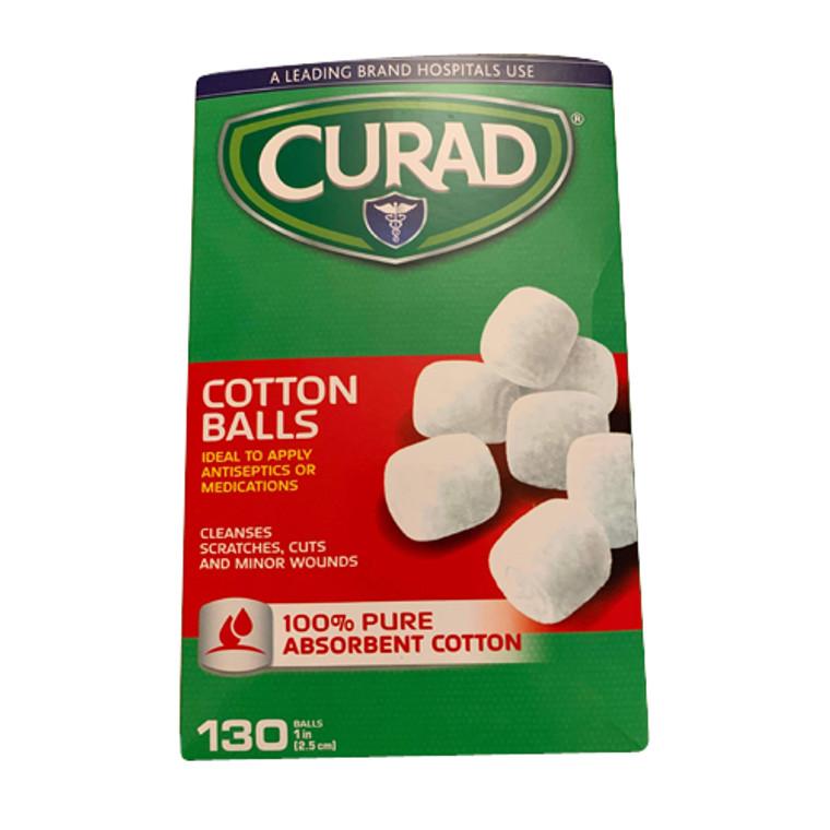 Curad Sterile Cotton Balls, 130 Ea