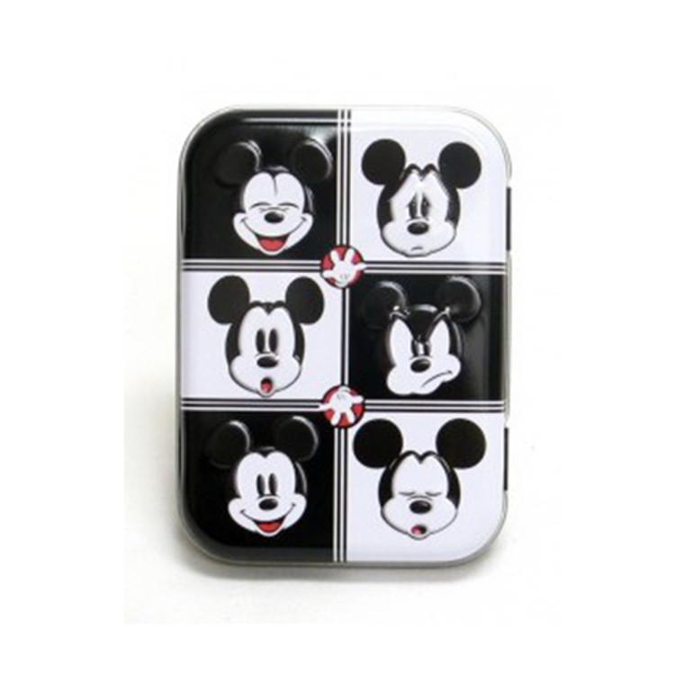 Disney Cotton Swabs Travel Mickey And Minnie Tins - 30 swabs/tin