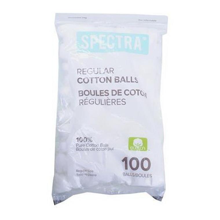 Spectra 100% Cotton Balls Jumbo, 100 Ea