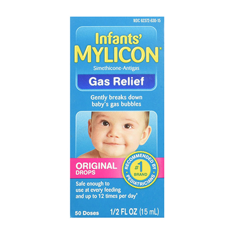 Mylicon Infant Drops Anti Gas Relief Original Formula For Babys, 0.5 Oz