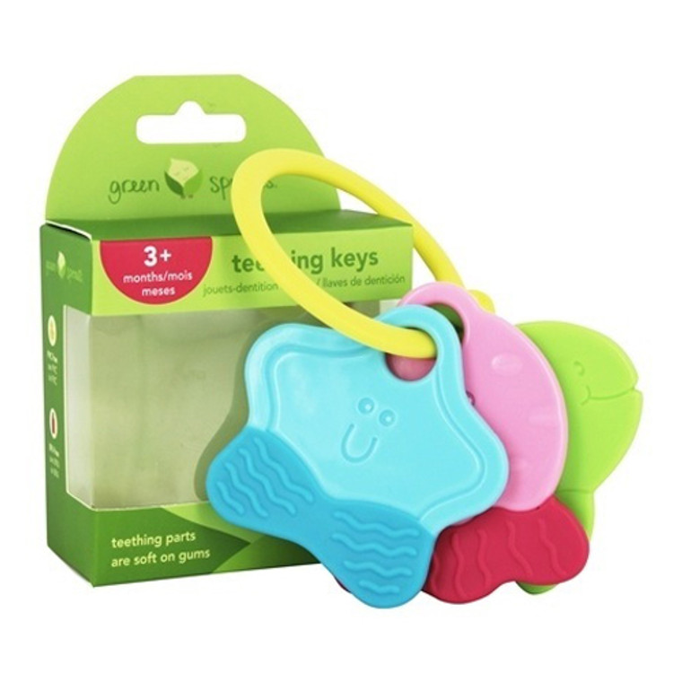 Green Sprouts Teething Keys for Age 3 Months Plus, 1 Ea