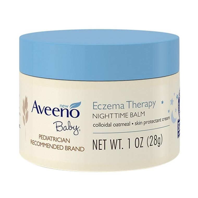Aveeno Baby Eczema Therapy Nighttime Balm For Skin, 1 oz