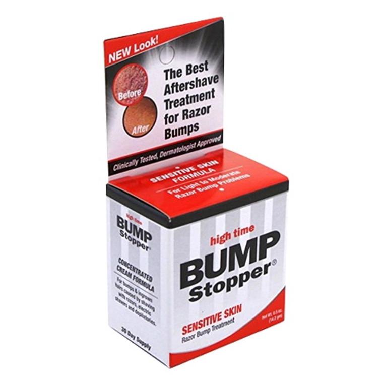 High Time Bump Stopper Sensitive Skin, Razor Bump Treatment, 0.5 oz