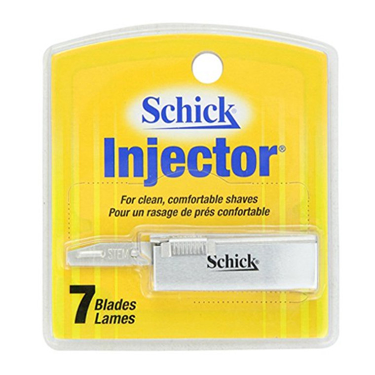 Schick Injector For Clean Comfortable Shaves - 7 Blades