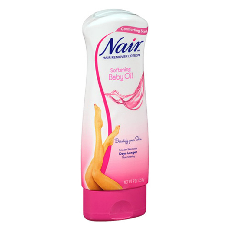 Nair Hair Remover Lotion With Baby Oil 9 Oz - 3 Ea