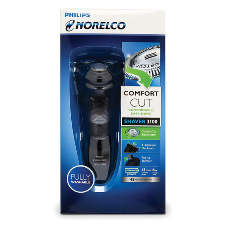 Philips Norelco Electric Shaver 3100 For Convenient, Easy Shave, S3310/81, 1 Ea