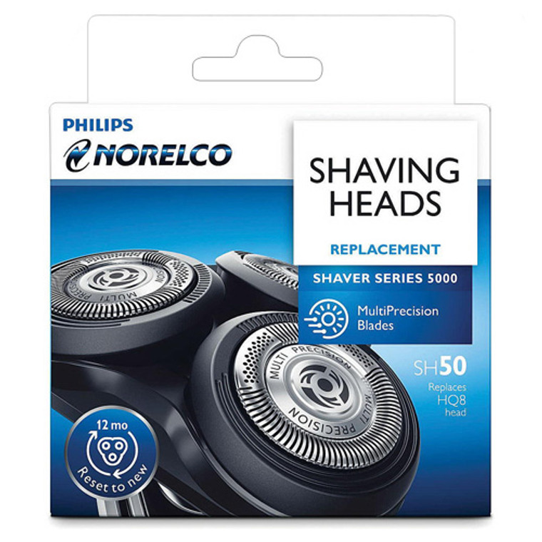 Philips Norelco SH50 Replacement Head For Series 5000 Shavers, 1 Ea