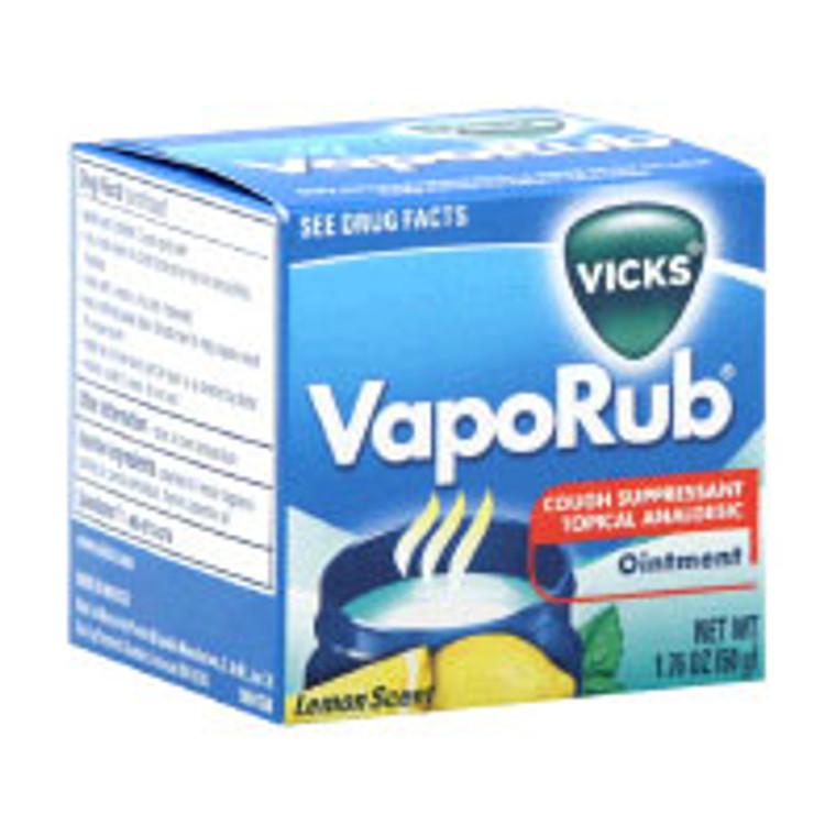 Vicks Vaporub Ointment Lemon Scented Jar - 50 Gm