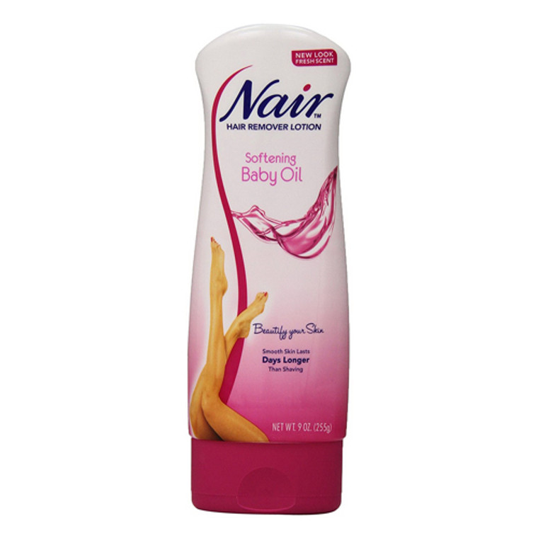 Nair Hair Remover Lotion With Baby Oil - 9 Oz