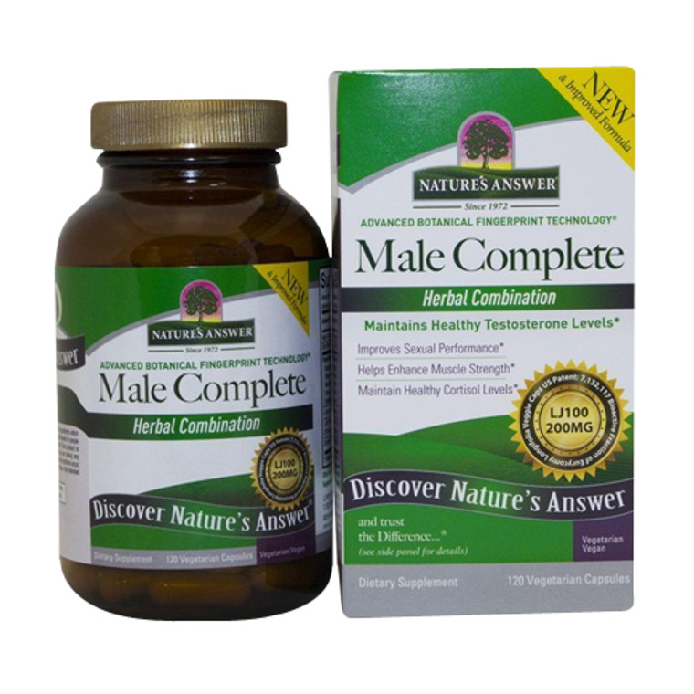 Natures Answer Male Complete Veggie Supplement Capsules, 120 Ea