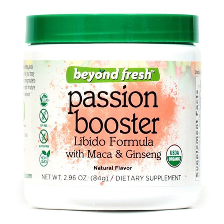 Beyond Fresh Passion Booster Libido Formula With Maca And Ginseng, 2.96 Oz