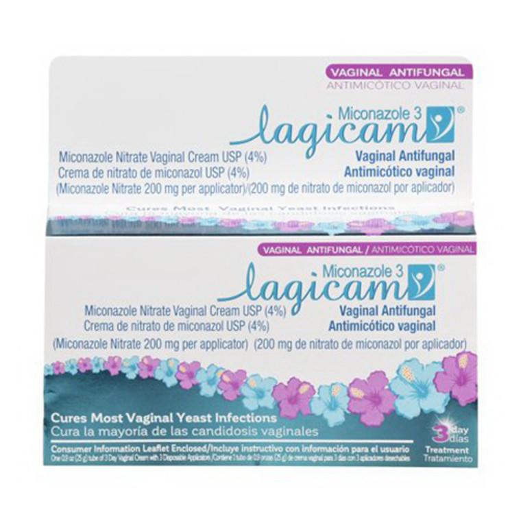 Lagicam Antifungal Miconazole Nitrate 3 Day Vaginal Cream, 0.9 Oz