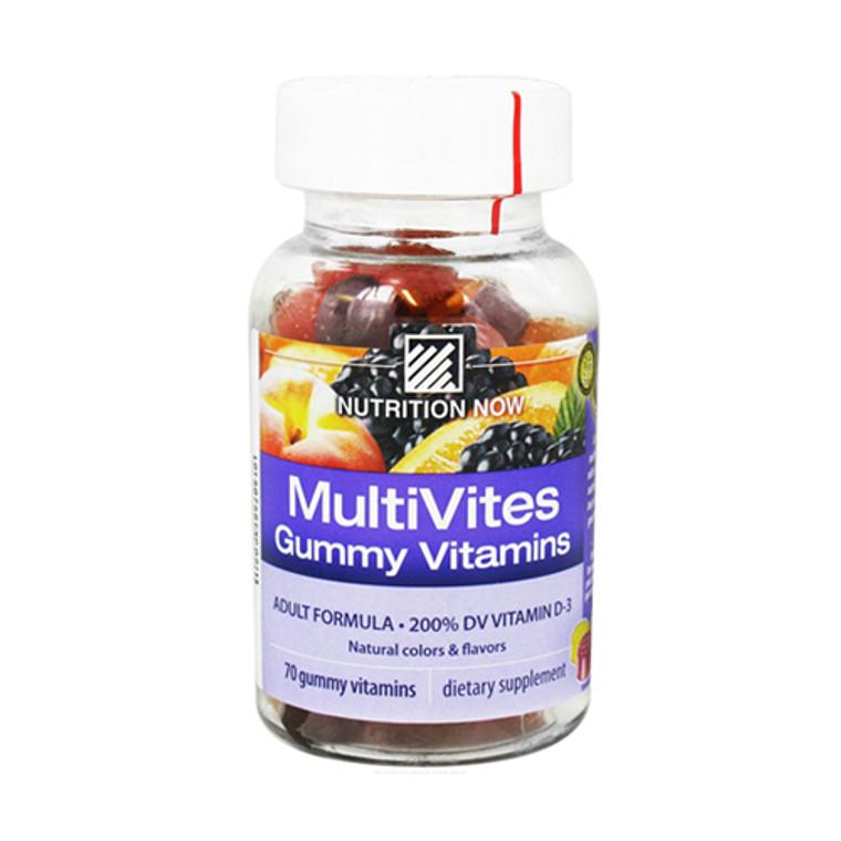 Multivites Gummy Vitamins For Adults - 70 Gummies