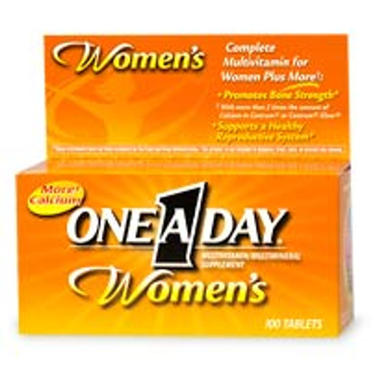 One-A-Day Womens Formula Multivitamin Tablets - 100 Ea