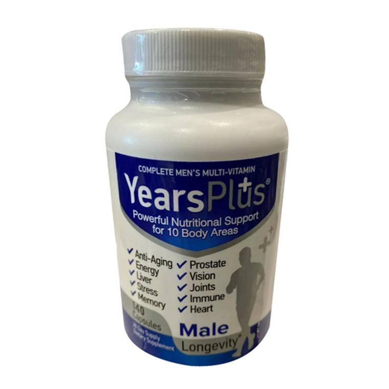 Century Systems Years Plus Complete Mens Multi-vitamin Capsules, 140 Ea