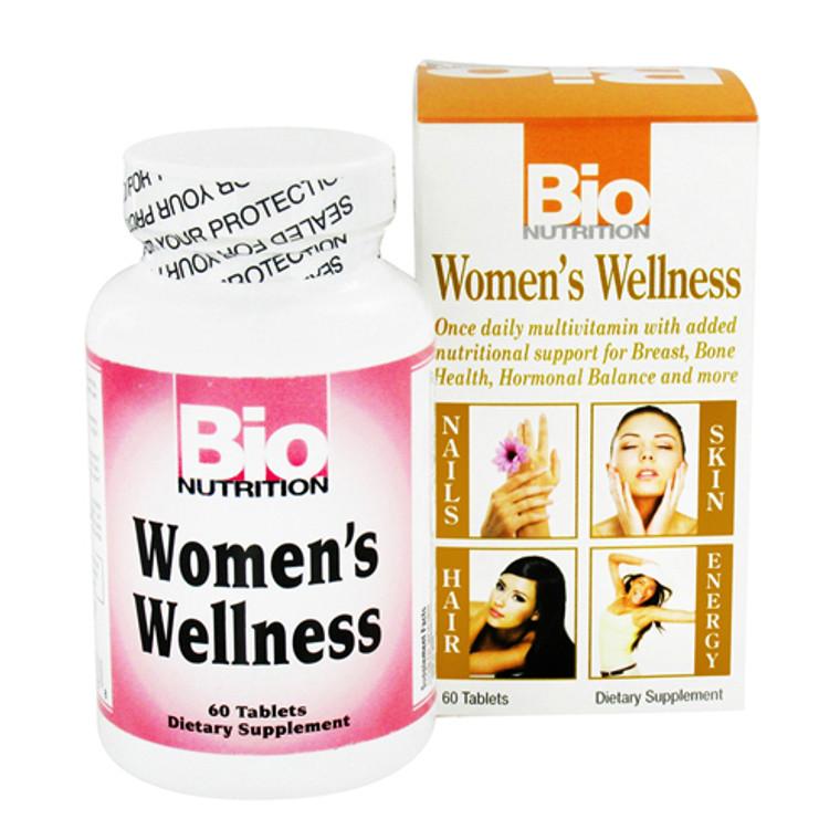 Bio Nutrition Womens Wellness Tablets - 60 Ea