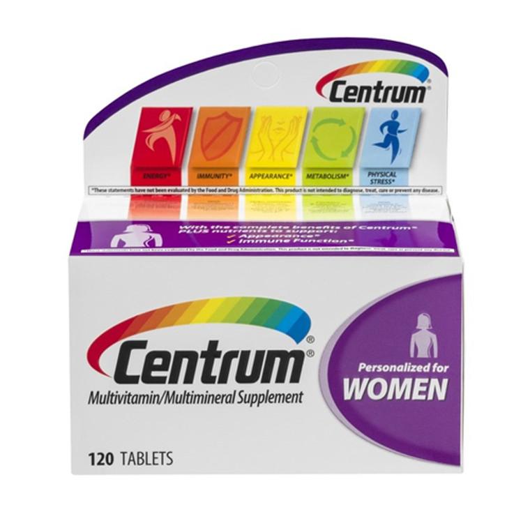 Centrum Women Multivitamin And Multimineral Supplement Tablets - 120 Ea