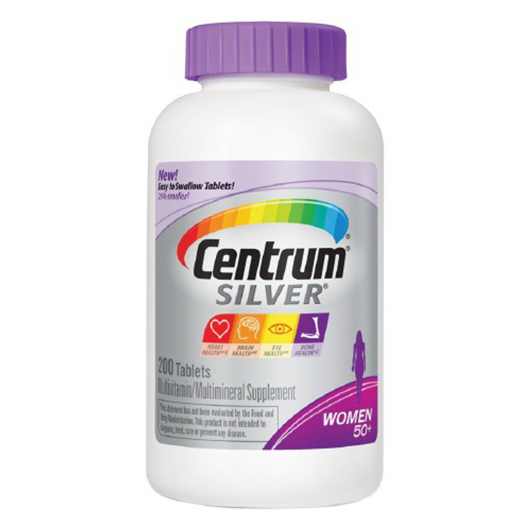 Centrum Silver Women 50+ Multivitamin, Tablets - 200 Ea