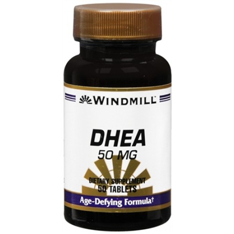 Windmill Dhea 50 Mg Tablets - 50 Ea