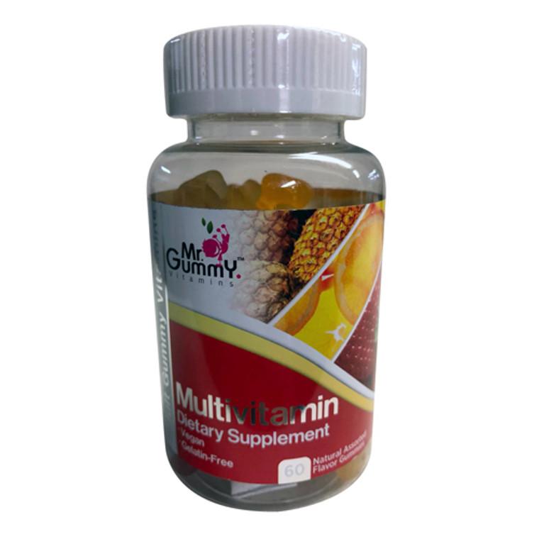 Mr. Gummy Vitamins Multivitamin Assorted Flavors Gummies, 60 Ea
