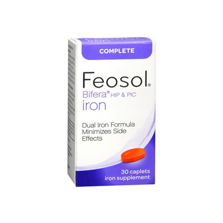 Feosol Bifera Dual Iron Formula Caplets - 30 Ea