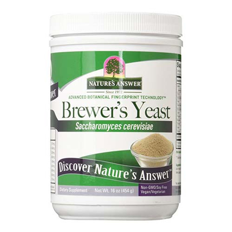 Natures Answer Brewers Yeast, 16 Oz