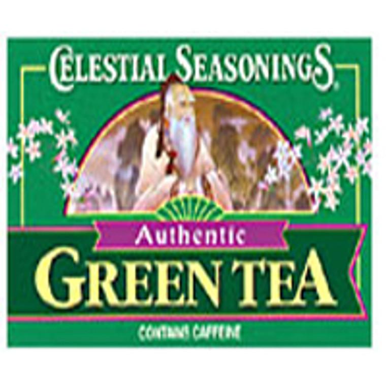 Celestial Seasonings Authentic Green Tea - 20 Bags