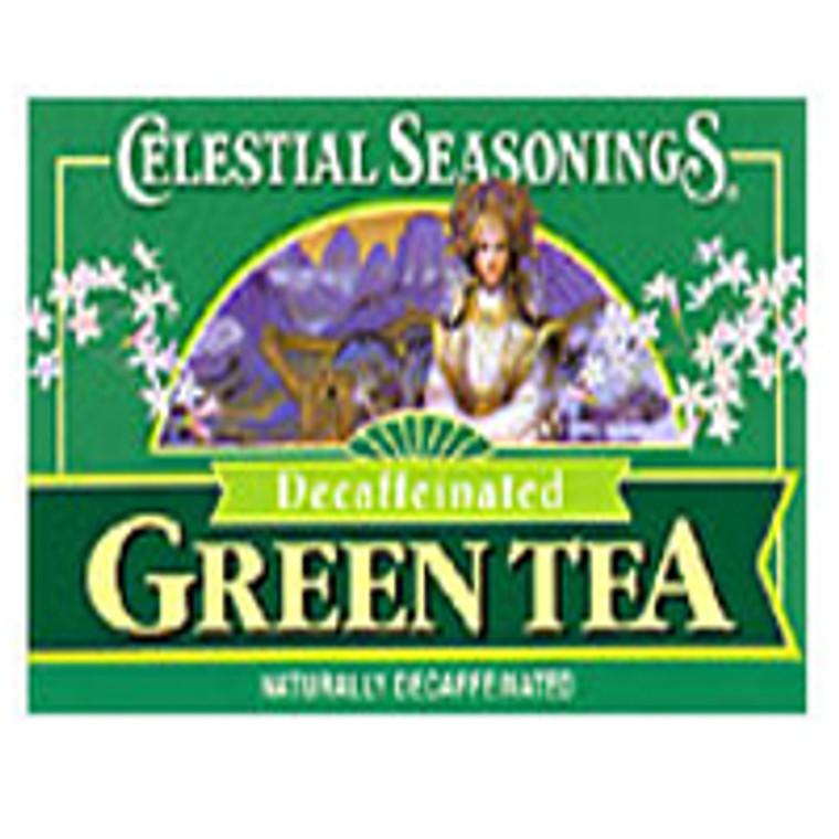 Celestial Seasonings Decaffeinated Green Tea - 20 Bags