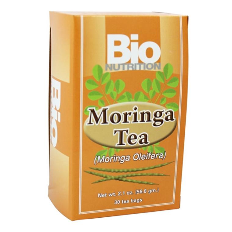 Bio Nutrition Moringa Tea Bags - 30 Ea