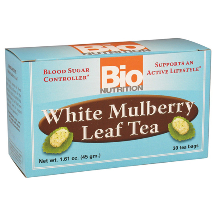 Bio Nutrition White Mulberry Leaf Tea - 30 Tea Bags