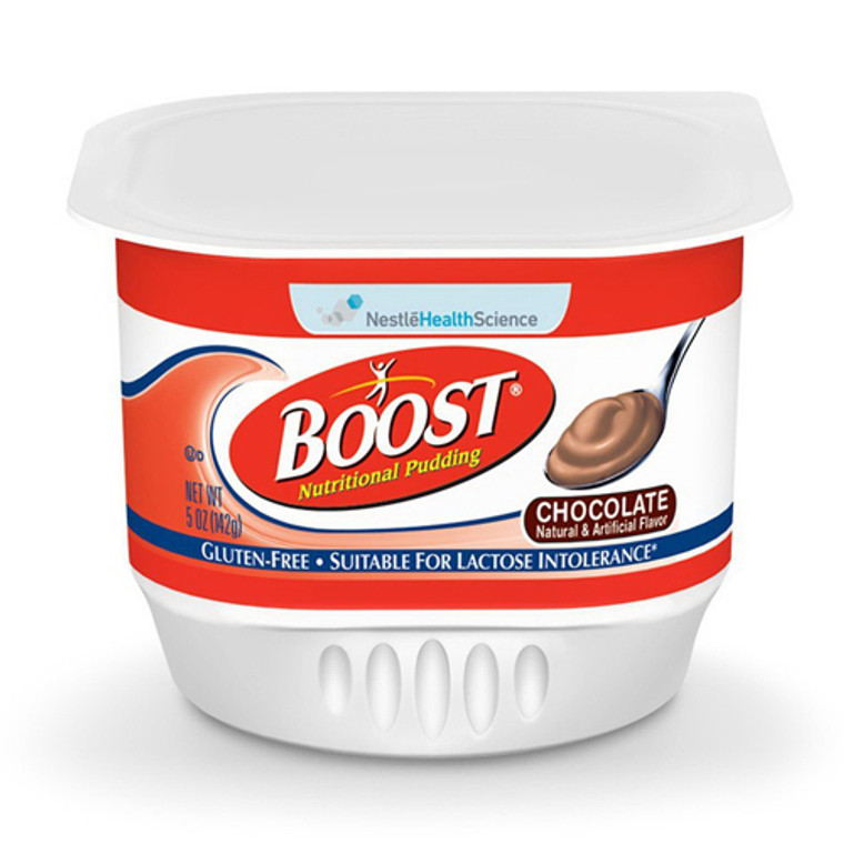 Boost Nutritional Pudding, Chocolate Flavor - 5 Oz X 48 Cans