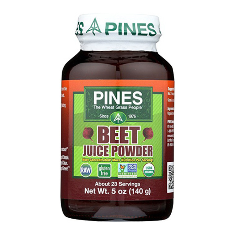 Pines Beet Juice Powder Organic, 5 Oz, 23 servings