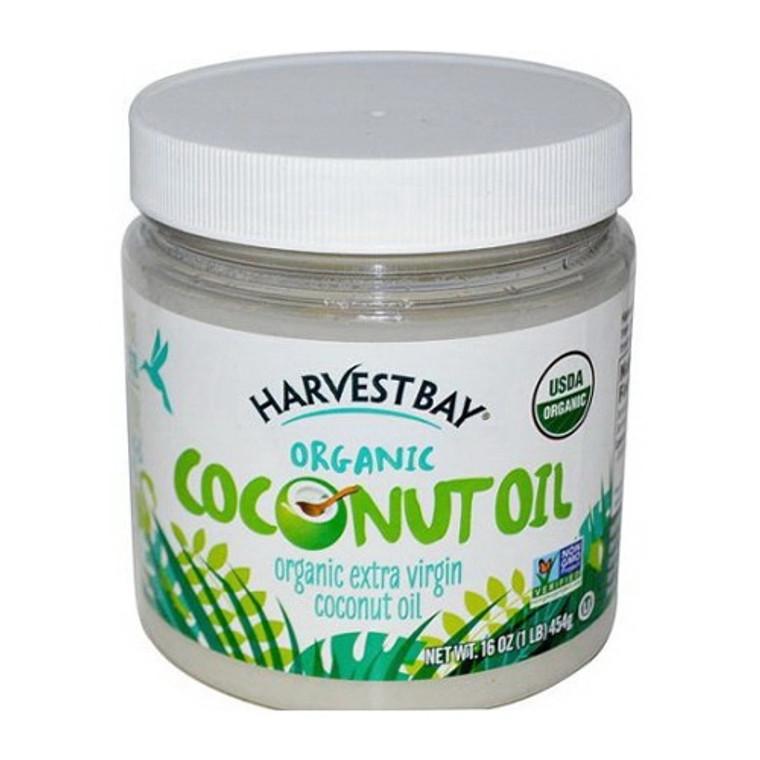 Harvest Bay Extra Virgin Organic Coconut Oil, 16 Oz