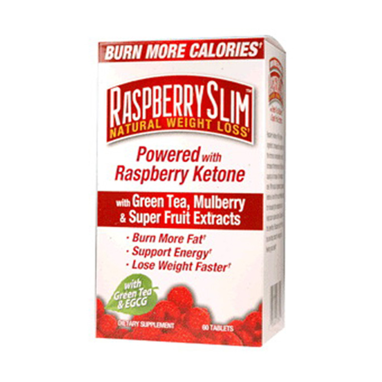 Raspberry Slim Natural Weight Loss System, Tablets - 60 Ea