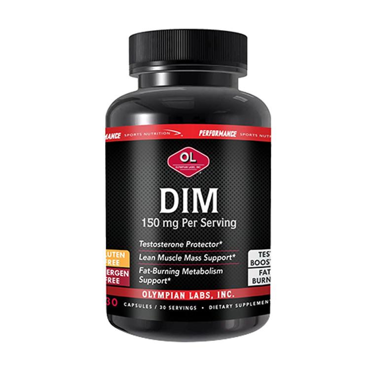Olympian Labs Dim 150 Mg Capsules, Fat Burning and Metabolism, 30 Ea