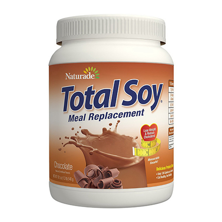 Naturade Total Soy Meal Replacement Powder, Chocolate, 19.1 Oz