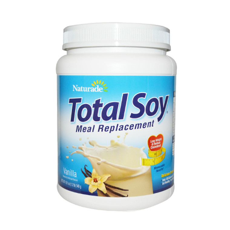 Naturade Total Soy Meal Replacement Vanilla, 19.1 Oz