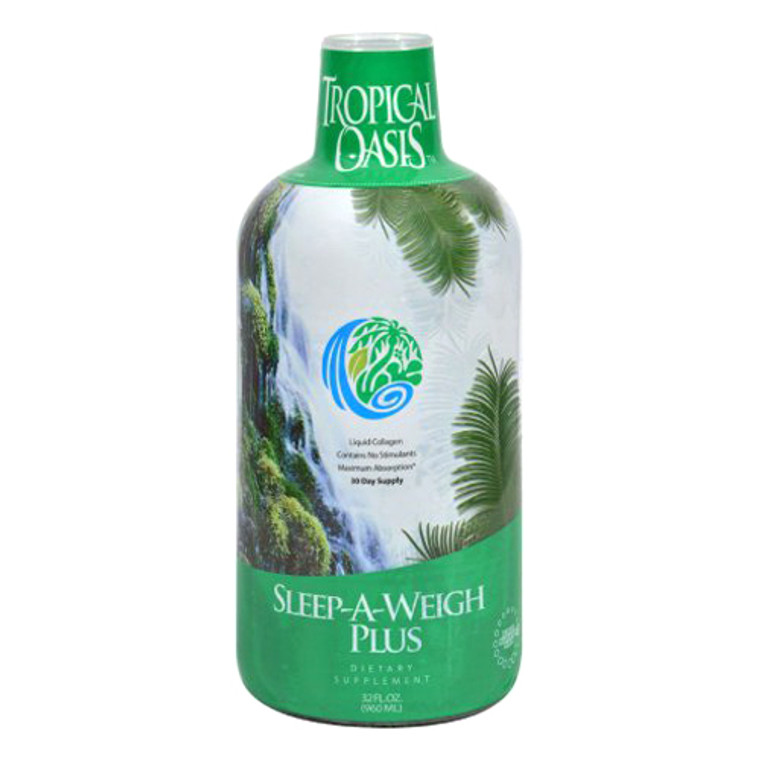 Tropical Oasis Sleep-a-weigh Plus, 32 Oz