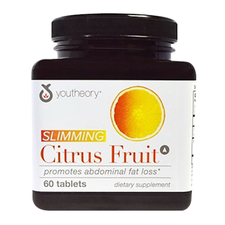 Youtheory Citrus Fruit Advanced with Chromium Supplement Capsules, 60 Ea