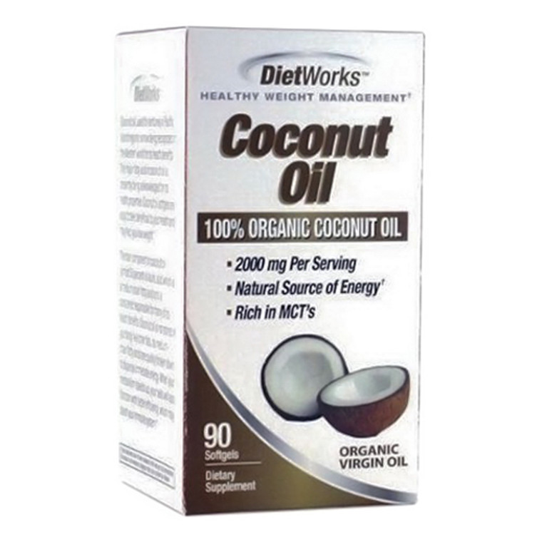 Windmill Dietworks Healthy Weight Management Coconut Oli Softgels - 90 Ea