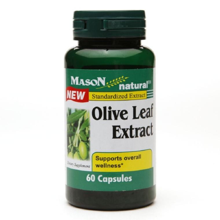 Mason Natural Olive Leaf Standardized Extract Capsules - 60 Ea