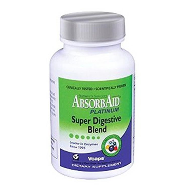 Absorbaid Platinum Super Digestive Blend Vcaps - 120 Ea